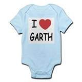 I heart Garth Infant Bodysuit