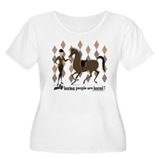 Betty Draper Bored Women's Plus Size T-Shirt