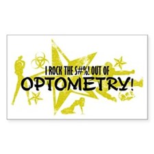 I ROCK THE S#%! - OPTOMETRY Decal