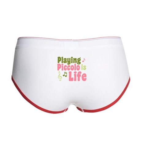 Playing Piccolo is Life Women's Boy Brief