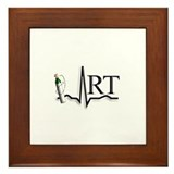 Respiratory Therapy 8 Framed Tile