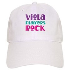 Viola Players Rock Cap