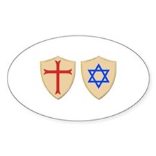 Zionist Crusader Decal