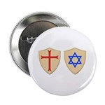 "Zionist Crusader 2.25"" Button (100 pack)"