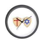 Zionist Crusader Wall Clock