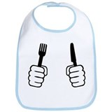 Eating - cutlery Bib