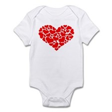 Heart Infant Bodysuit