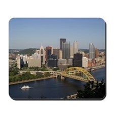 Downtown Pittsburgh Mousepad