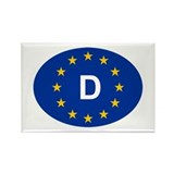 EU Germany Rectangle Magnet (100 pack)