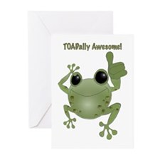 Toadally Awesome! Greeting Cards (Pk of 20)