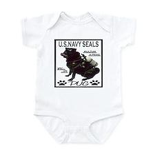 Cute Seal team Infant Bodysuit