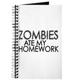 Zombies at my Homework Journal