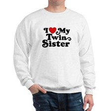 I Love My Twin Sister Jumper