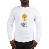 Pottery Chick Long Sleeve T-Shirt