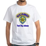 Guard Tent City Maricopa Coun White T-Shirt