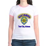 Guard Tent City Maricopa Coun Jr. Ringer T-Shirt