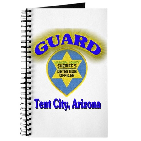 Guard Tent City Maricopa Coun Journal