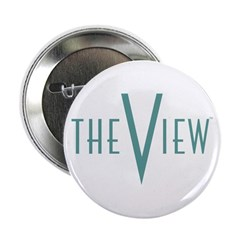 "The View Teal Logo 2.25"" Button"