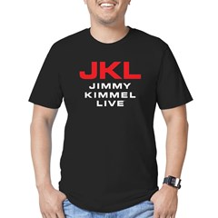JKL Logo (Stacked) Men's Fitted T-Shirt (dark)