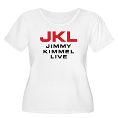 JKL Logo (Stacked) Women's Plus Size Scoop Neck T-