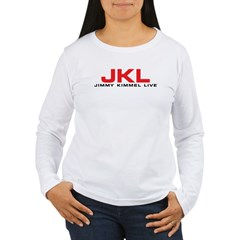 JKL Red Logo Women's Long Sleeve T-Shirt