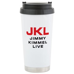 JKL Logo (Stacked) Ceramic Travel Mug