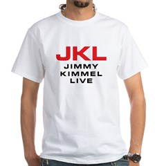 JKL Logo (Stacked) White T-Shirt
