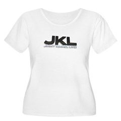 JKL Shadow Women's Plus Size Scoop Neck T-Shirt
