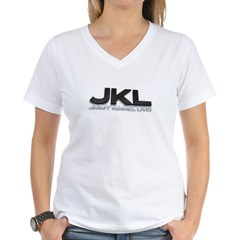 JKL Shadow Women's V-Neck T-Shirt