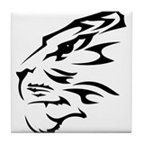Tribal Tiger Tile Coaster