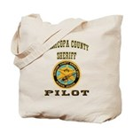 Maricopa County Sheriff Pilot Tote Bag