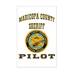 Maricopa County Sheriff Pilot Mini Poster Print