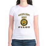 Maricopa County Sheriff Pilot Jr. Ringer T-Shirt