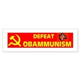 DESTROYING AMERICA Bumper Sticker
