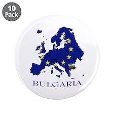 "European Union - Bulgaria 3.5"" Button (10 pack)"