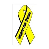 Yellow Ribbon Decal