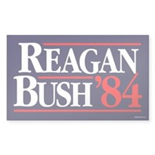 Reagan Bush '84 Campaign Decal