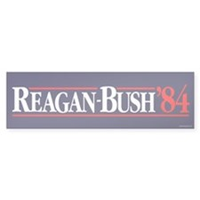 Reagan Bush '84 Campaign Bumper Sticker