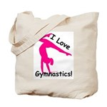 Gymnastics Tote Bag - Love