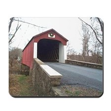 Van Sant Covered Bridge Mousepad