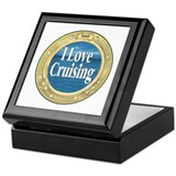 I Love Cruising Keepsake Box