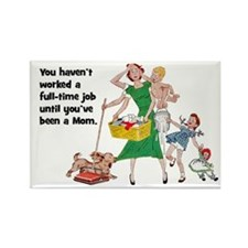 SAHM Fridge Magnet