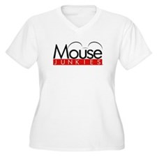 mousejunkies_logo_forcafepress Plus Size T-Shirt