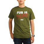 Fur Is Dead Organic Men's T-Shirt (dark)