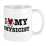 I Love My Physicist Mug
