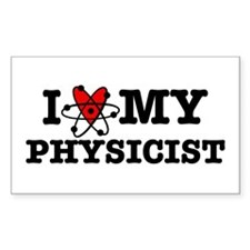 I Love My Physicist Decal