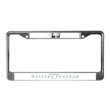LU Master's Program License Plate Frame