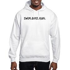 Swim. Bike. Run. Hoodie