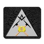 Masonic King Coal Miners Mousepad