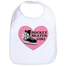 Hockey Skater Girl Ice Skate Bib